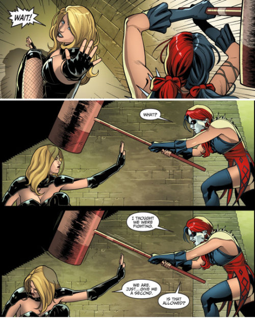 Even Harley Quinn can give the feels. - Imgur