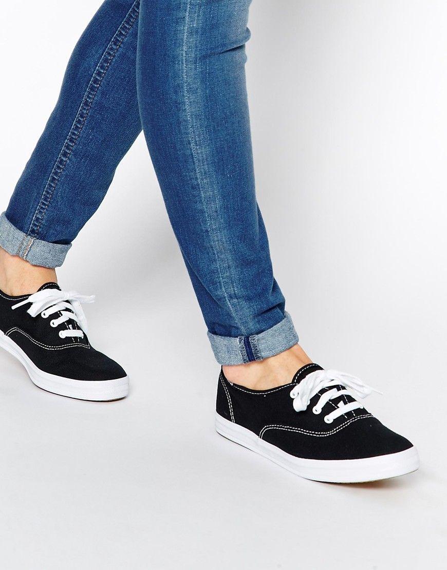 Buy Women Shoes / Keds Champion Canvas White Plimsoll Shoes