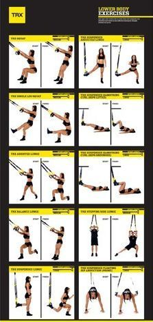 trx workout  you'll feel it in the morning   trx