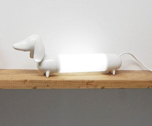 Wants And Needs Daschund Lamp