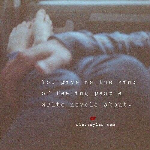 ...the Kind Of Feeling...