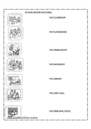 The school rooms | my worksheets | Pinterest | Worksheets, Teacher ...