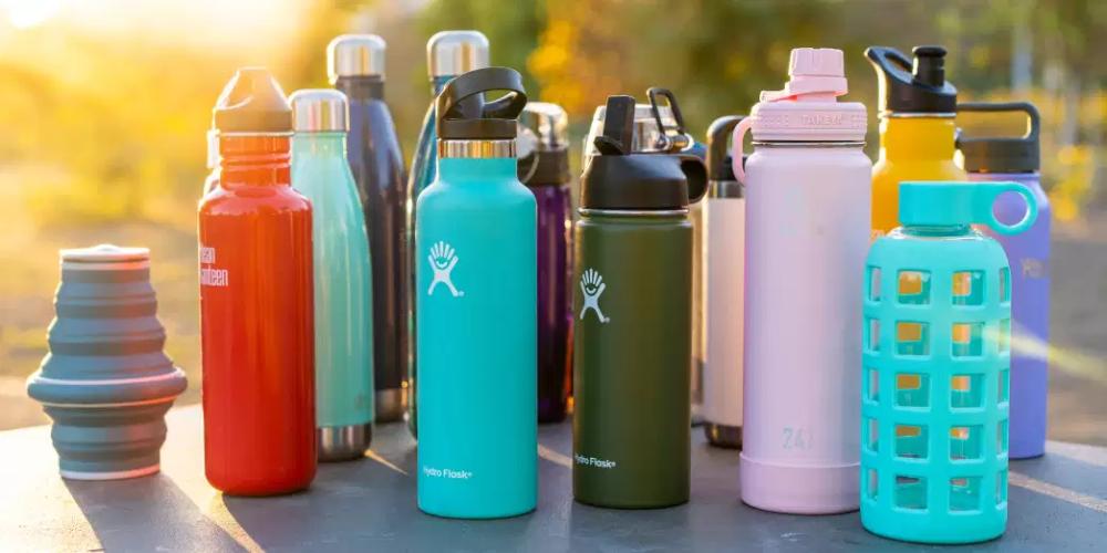Remplacer les bouteilles plastiques par une gourde