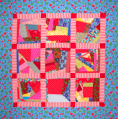 Quilts > Scrappy Quilts – Victoria Findlay Wolfe Quilts
