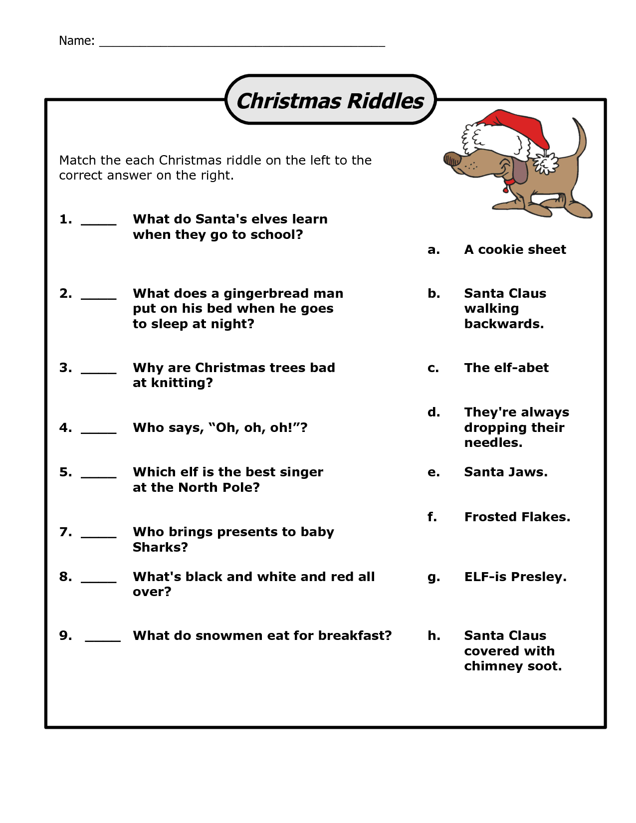 Funny Christmas Riddles Christmas Riddles Christmas Riddles For Kids Christmas Jokes