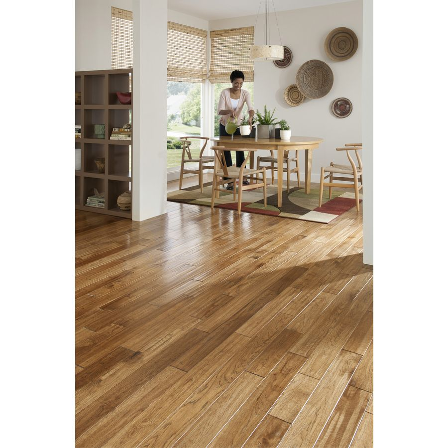 Cleaning Fake Wood Floors: Shop Mullican Flooring Mullican 4-in W Prefinished Hickory