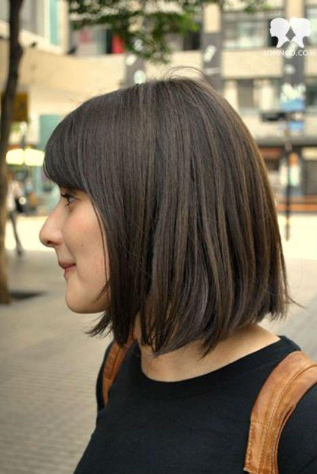 Idée coiffure carré milong en 2019 Coiffure carré mi