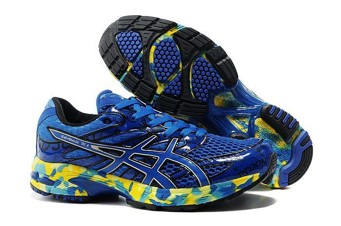 more photos 5baf8 a6b1b http   www.vfshoes.com asics-6th-vi-sixth-classic-men-colorful-blue-yellow- running-shoes-p-362.html   Adidas Shoes   Pinterest