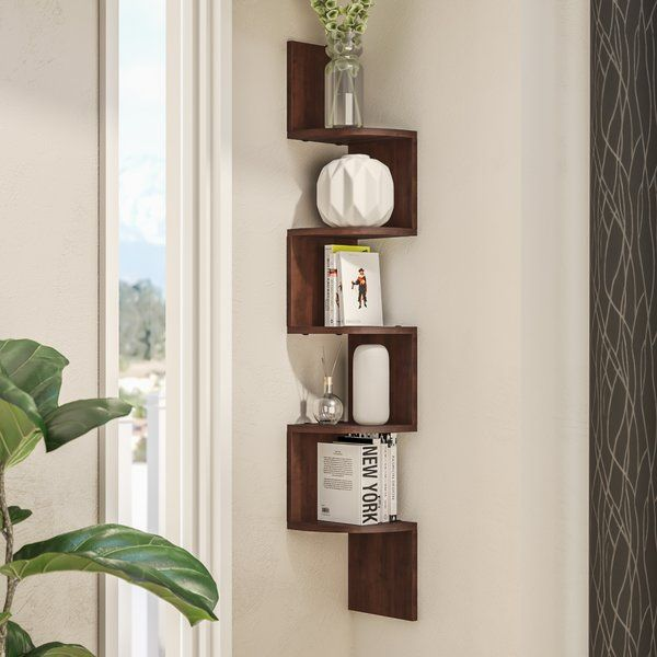 ridgeway corner wall shelf in 2019 shelves corner wall shelves rh pinterest com