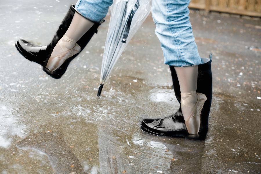 NYC Ballet Rain Boots - Ben Wallis | Gifts for Dancers | Pinterest