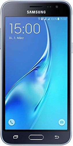 Samsung Galaxy J3 DUOS Smartphone (12,63 cm (5 Zoll) HD Super-AMOLED-Touchscreen, 8 GB, Android 5.1 Lollipop) schwarz #Samsung #Galaxy #DUOS #Smartphone #Zoll) #Super #AMOLED #Touchscreen, #Android #Lollipop) #schwarz