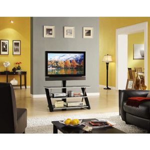 Whalen 3 In 1 Flat Panel Tv Stand For Tvs Up To 50 Vacation
