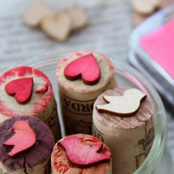 Make your own cute stamps in only 3 seconds! {DIY} tutorial. In German and English.