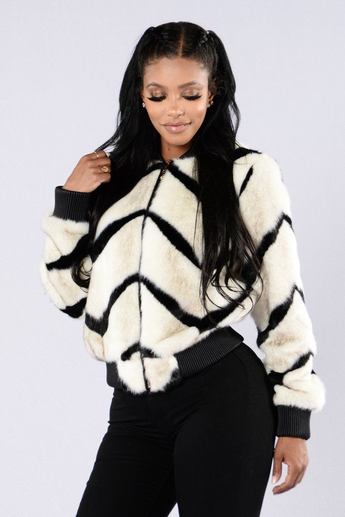 Can't Get Enough Jacket – Zebra