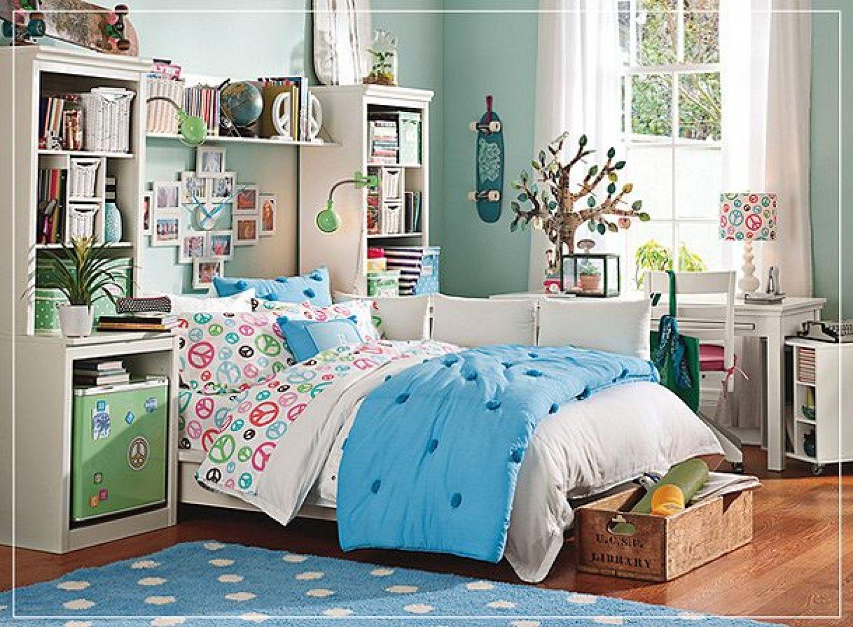 fabulous teen girl bedrooms - Light Wood Teen Room Decor