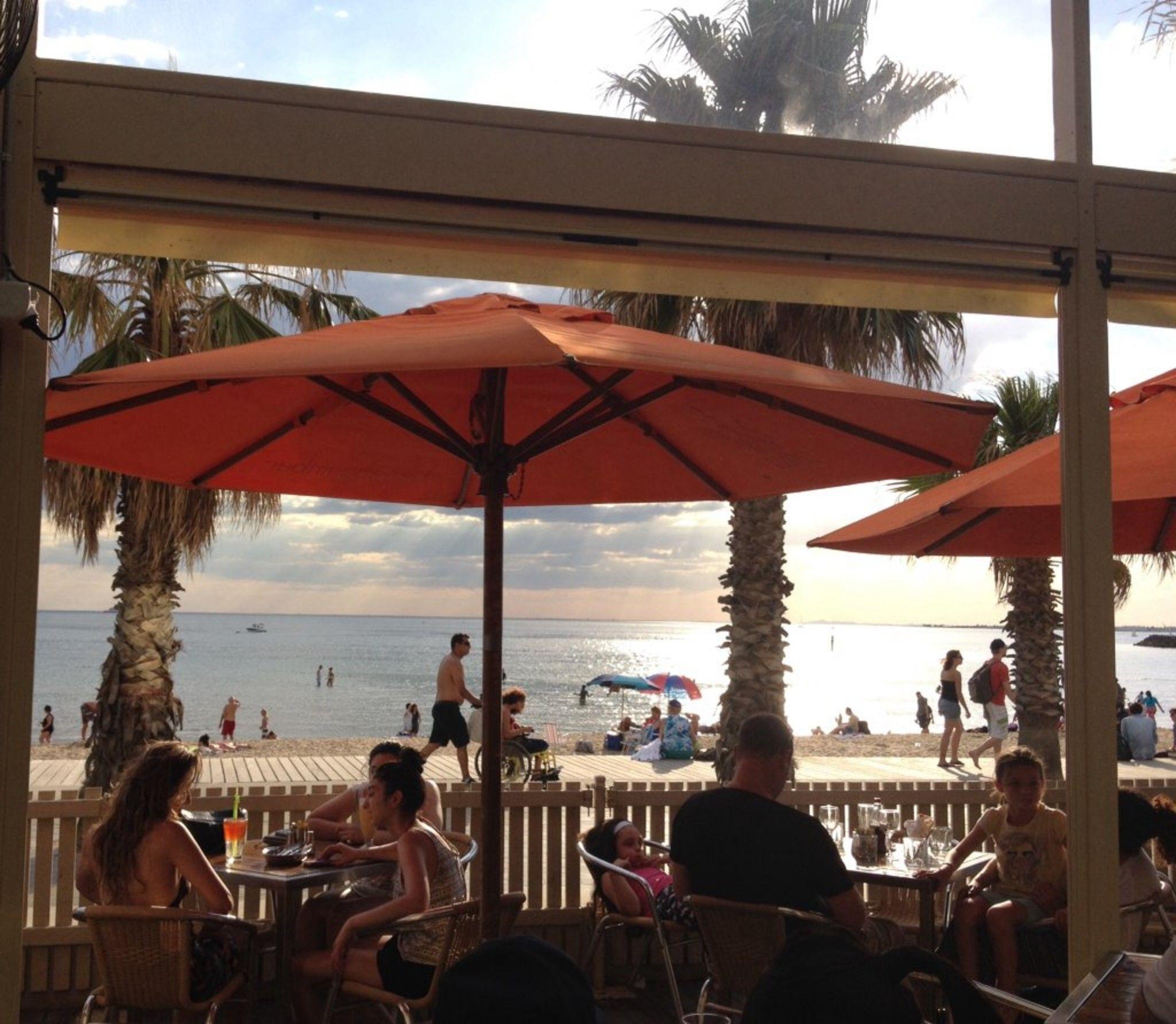 Beachcomber Cafe St Kilda Patio Fun Places To Go Outdoor Decor