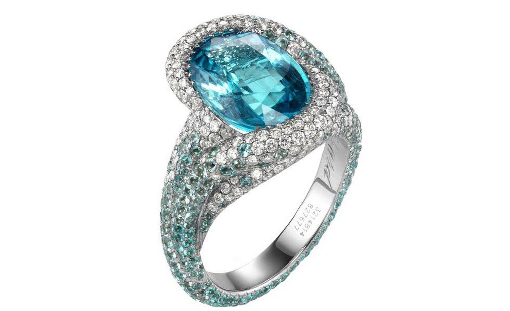 Ring · Hd Chopard Blue Diamond Ring Wallpaper