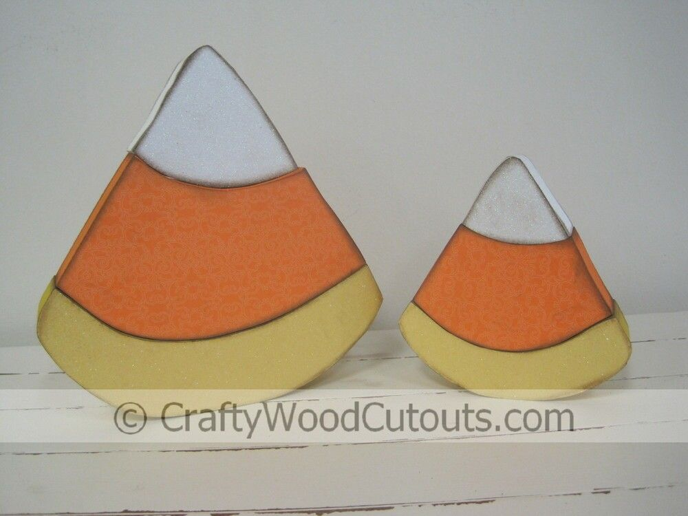 Halloween diy wood craft design and decor halloween wood crafts candy corn halloween wood craft design from crafty wood cutouts sciox Images