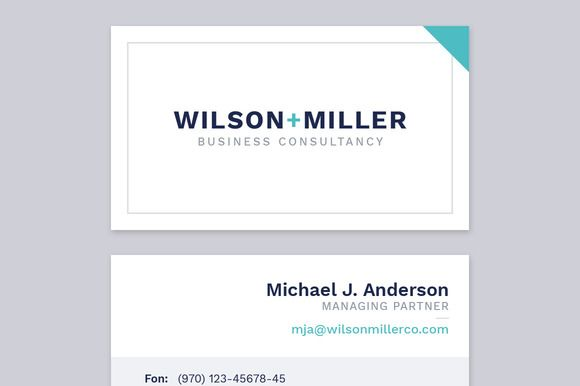 Business Card Template for Adobe InDesign on @creativemarket