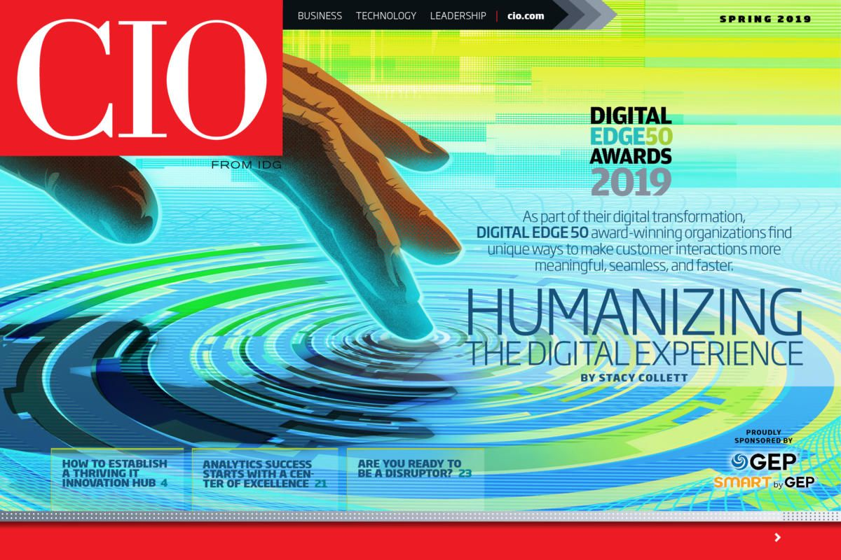 Welcome To The Spring 2019 Digital Issue Of Cio Featuring Winners