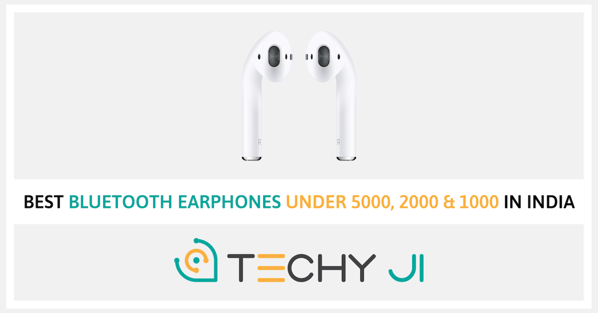 Best Bluetooth Earphones Under 5000 In India 2020 Bluetooth Wireless Earbuds India