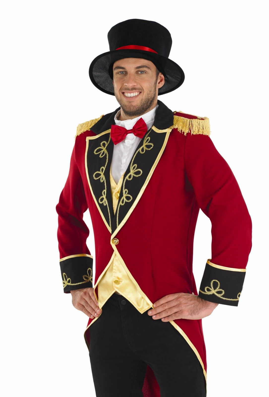 Male Circus Ringmaster Costume