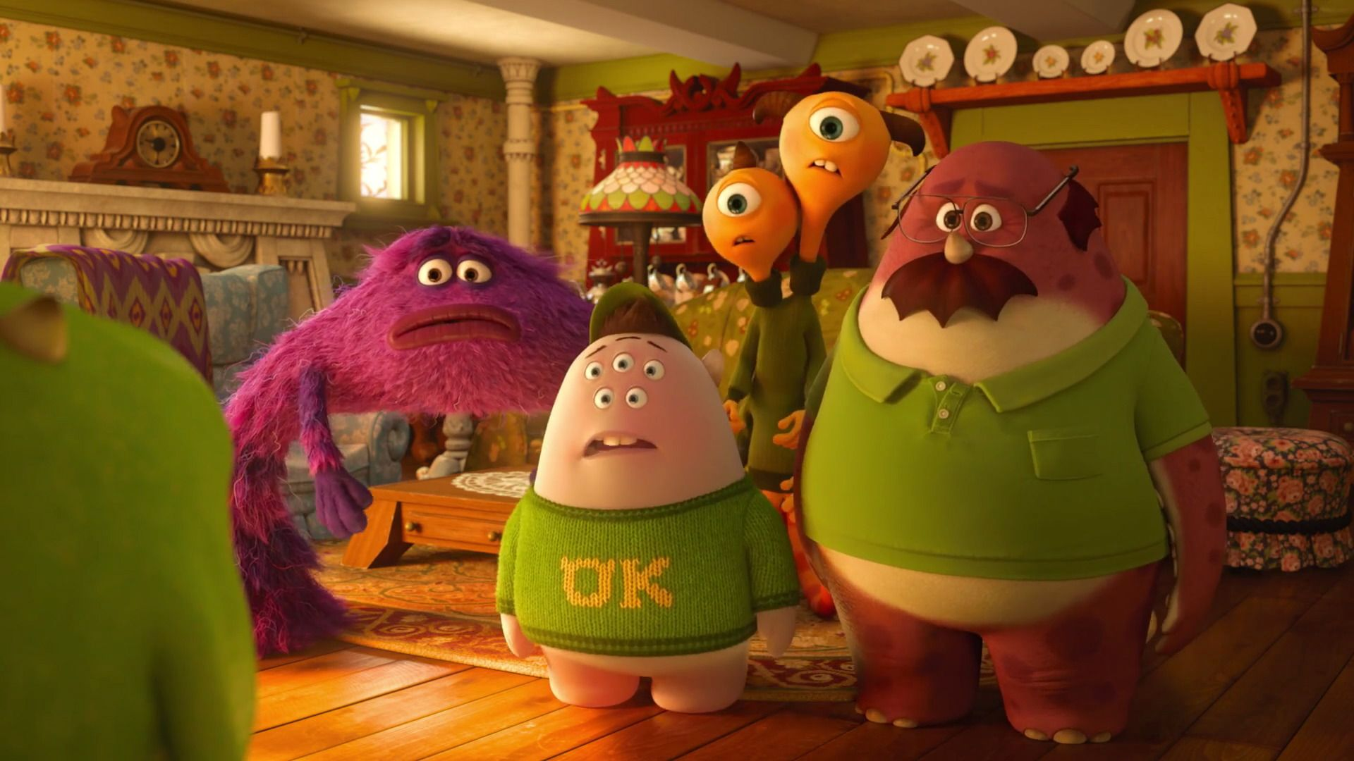 Screencap Gallery For Monsters University 2013 1080p Bluray Disney Sequels Monsters Inc Pixar Mike Wazowski Monster University Mike And Sulley Monster