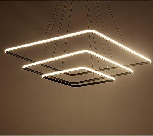 Saint Mossi Exclusive Design Modern Square Led Chandelier Square Pendant Lighting Led Chandelier Ceiling Pendant Lights