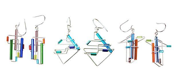 wire earrings - Google Search