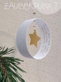 Weihnachtspost - einmal anders.... { Mobile- DIY mit Freebie } (*ZAUBERPUNKT*) #noel2019bricolage