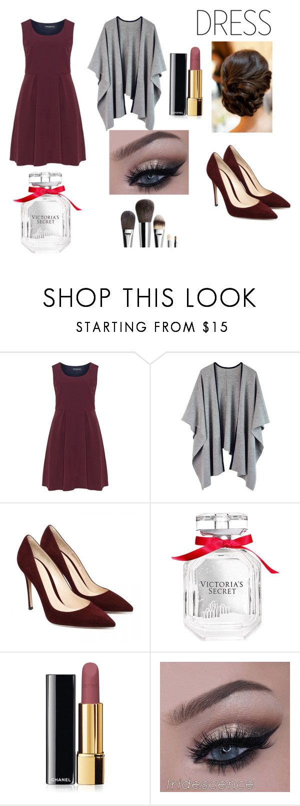 """""""Over sized dress trend"""" by garance12 ❤ liked on Polyvore featuring Manon Baptiste, Victoria's Secret, Chanel, holidaystyle and oversizeddress"""