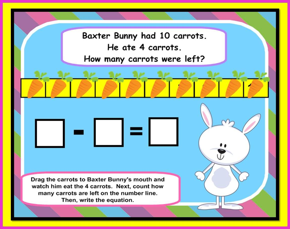 SMARTboard Math Spring: Addition, Subtraction & Word Problems ...