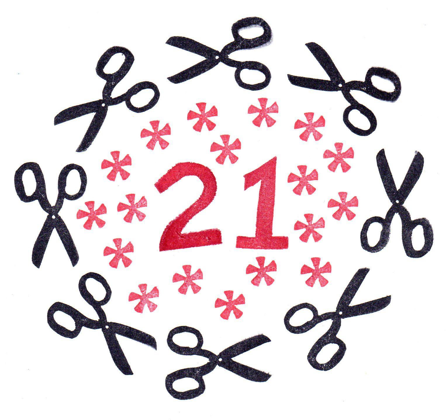 21 Jaar Verjaardag Tekst Verjaardagskaarten Pinterest
