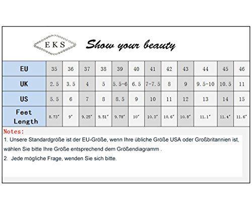 EKS Damen Peep Toe High Heel Pumps Schuhe Plattform - http://on-line-kaufen.de/eks/eks-damen-peep-toe-high-heel-pumps-schuhe