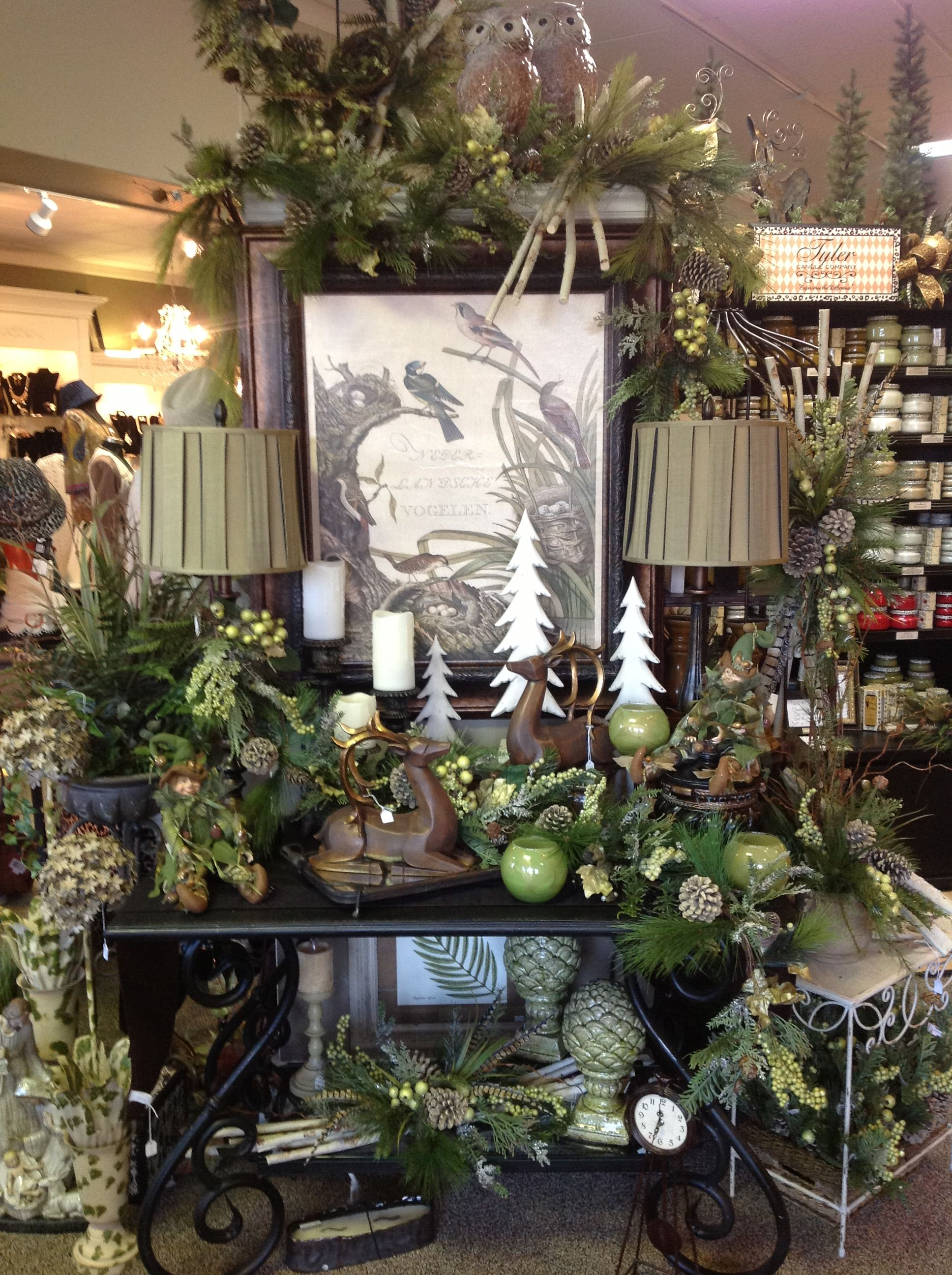 Christmas display at something special Easley Sc