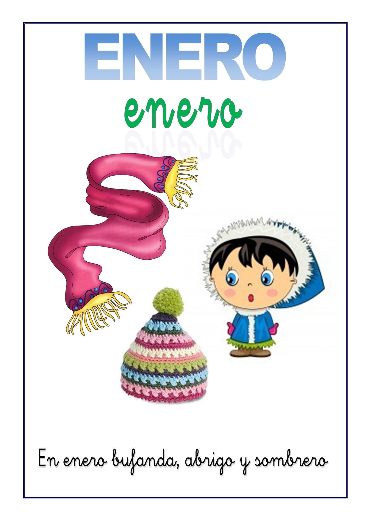 cartel-con-el-mes-de-enero-para-niños.jpg 1 240 × 1 754 pixels ...