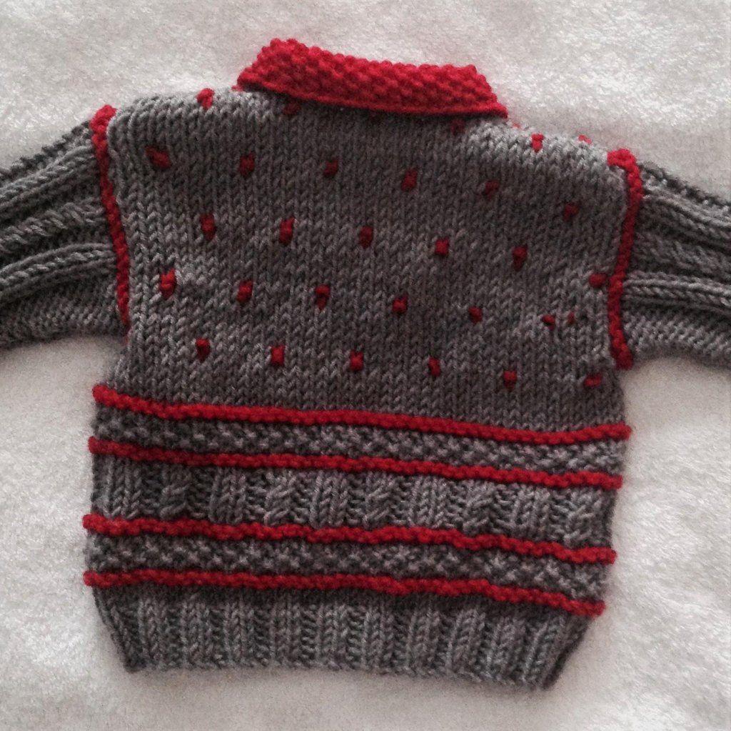 Winter Warm Baby jacket Knitting pattern by Seasonknits