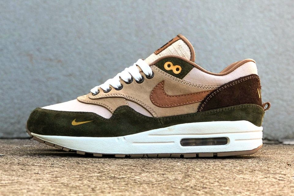 BespokeIND Unveils a Carhartt WIP-Inspired Nike Air Max 1 Custom