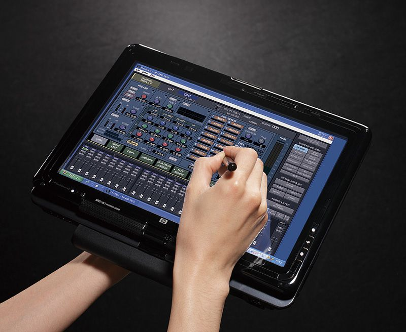 Ipad Use With Roland M 480 Mixer Console Electronic Musical Instruments Film Life Recording Equipment