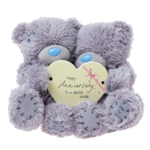 Me To You Tatty Teddy Grey Teddy Bears Holding A Cream Happy Anniversary To A Special Couple Heart Happy Anniversary Happy Engagement Happy Birthday Husband
