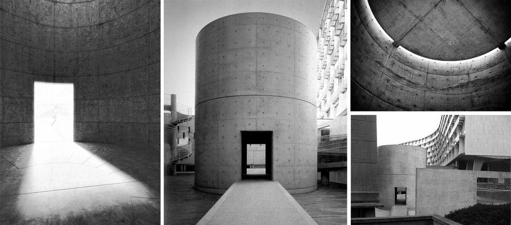 Meditation Space Unesco Paris France Tadao Ando