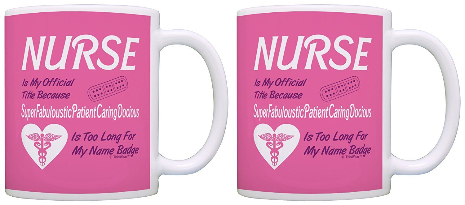 Nurse appreciation gift official title too long funny rn 2