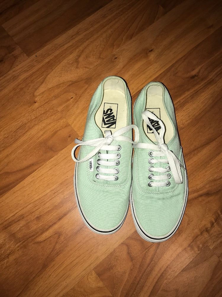 ab3a7cd549286b Vans Women Men Unisex Shoes Authentic Teal Green Canvas Lace Up Classic  Sneakers  fashion  clothing  shoes  accessories  womensshoes  athleticshoes   ad ...