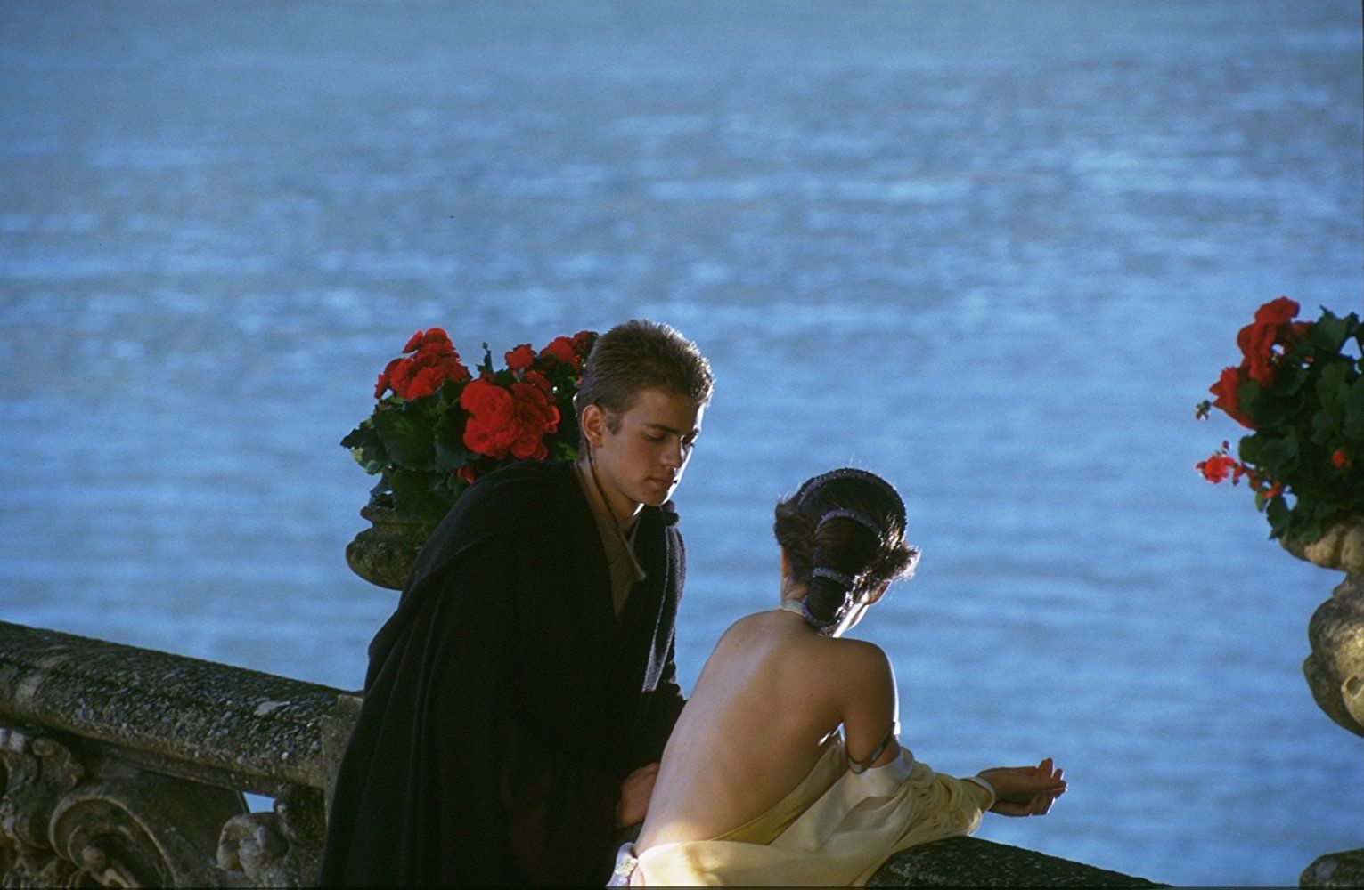 Attack Of The Clones Behind The Scenes Star Wars Anakin Star