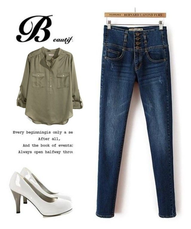 """hh"" by snow-75 ❤ liked on Polyvore featuring Ainvyi and H&M"