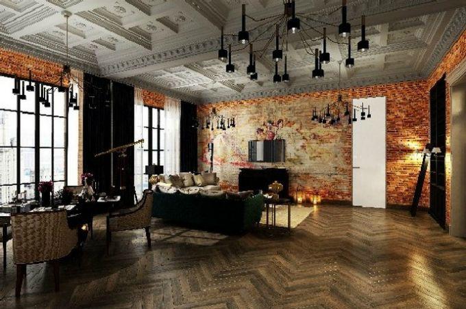Klassische Wohnzimmer wie von einen Film \u2013 10 Wohnzimmer Ideen