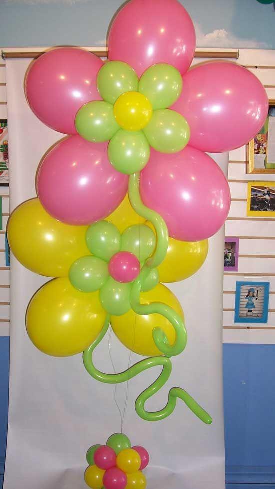 Balloon centerpieces flower centerpiece s