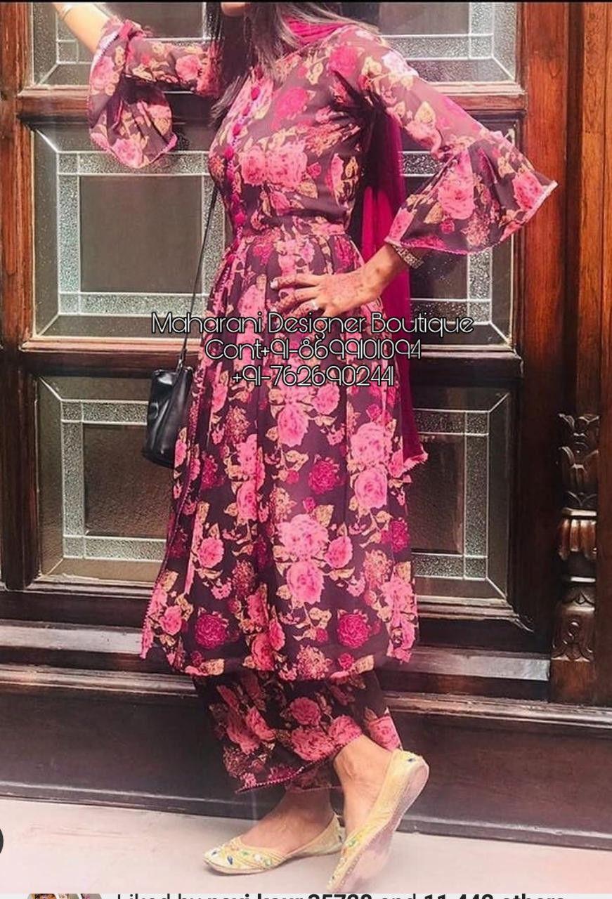 Pant Plazo Suit New Punjabi Suit Design 2020