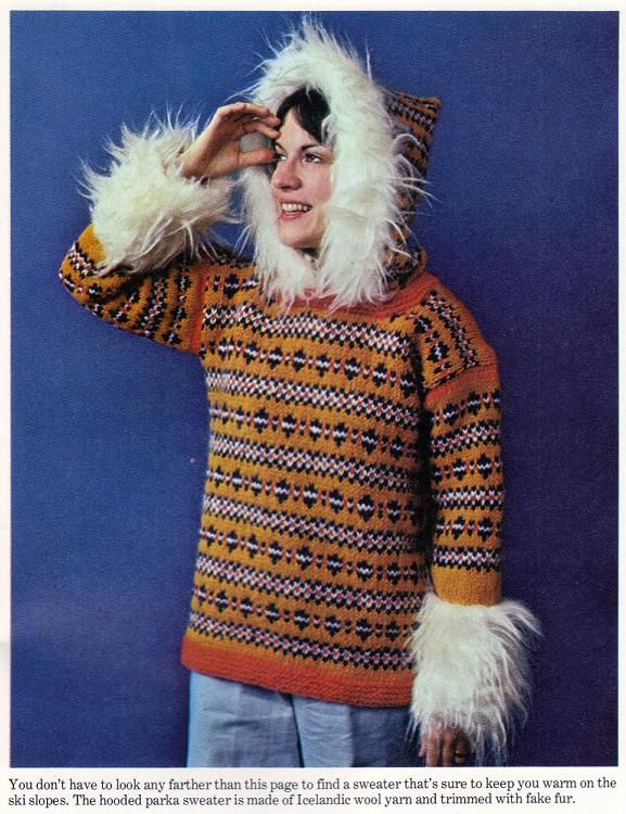 Knit to Fit – A Hooded Parka Sweater | Grandmother's Pattern Book ...
