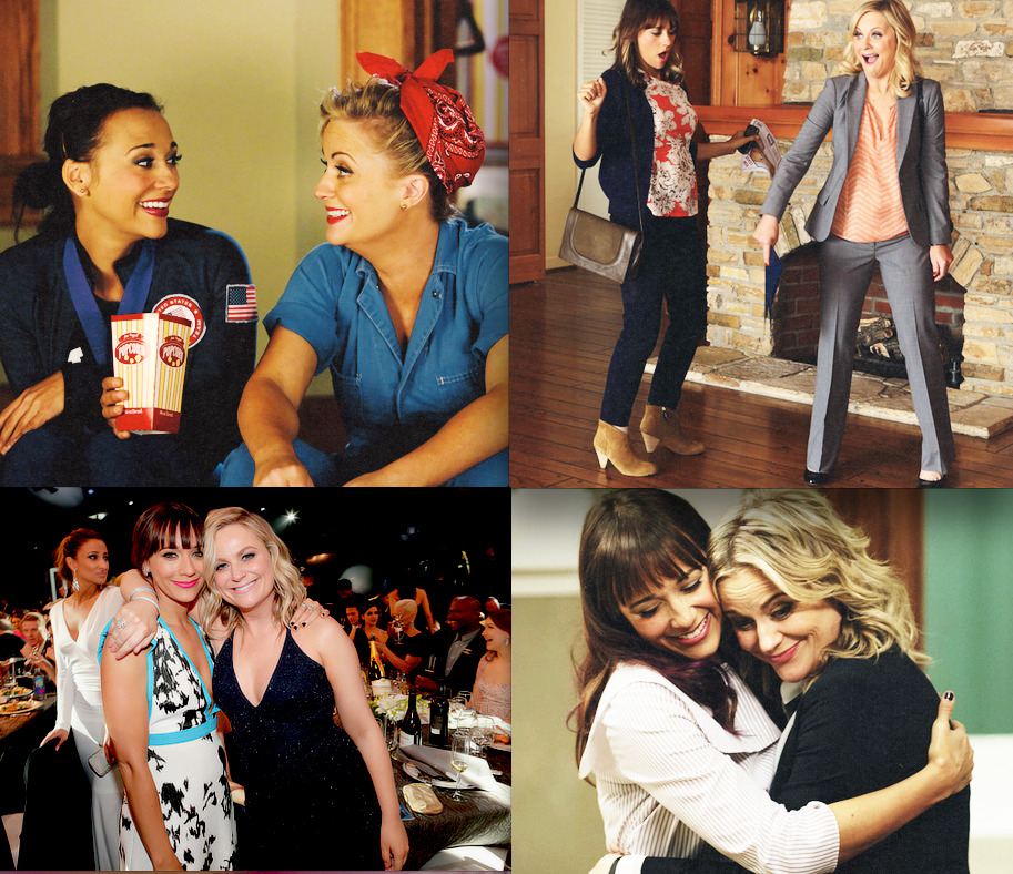 Best friend goals: Ann and Leslie, Parks and Recreation